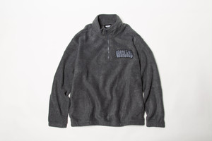 HALF ZIP FLEECE (GRAY)