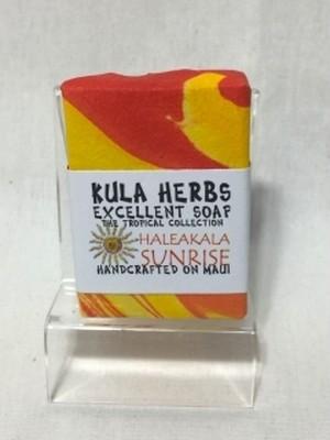 KULA HERBS(クラハーブス)Soap-ソープ-オーガニック-ハレアカラ(オレンジ)-石鹸-洗顔-ボディ-手作り-hawaii-ハワイ-ココナッツオイル-ククイナッツオイル