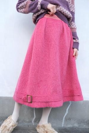 vintage/sasanqua mohair skirt.