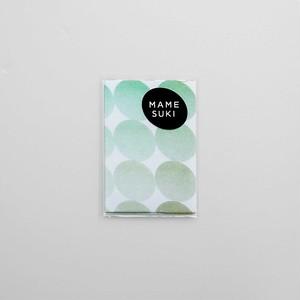 【NEW】ポチ袋[ファンタスティックマメ] Peppermint Green × Ocher