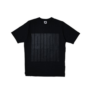 TRUNK Logo Tee Black×Black
