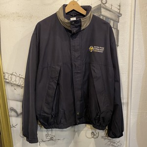polyester nylon zip up jacket