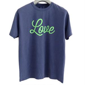 Tシャツ Love(ネイビー)