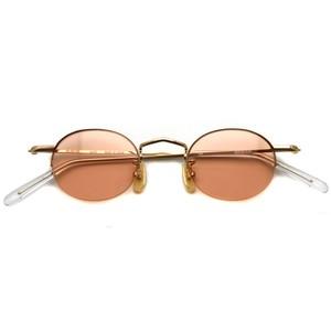 BOSTON CLUB ボストンクラブ / SOL Sun / 02 Gold - Orange Lenses ゴールド-オレンジレンズ サングラス