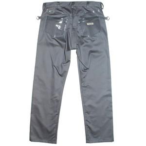『Berni Vinyl』Plastic pocket trousers/Grey(S)