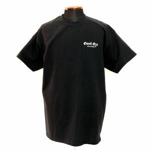 GA ロゴ スモール Tシャツ ブラック:Good Art HLYWD グッド アート ハリウッド