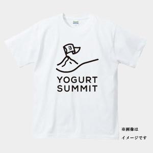 ヨーグルトサミットTシャツ 白 キッズ