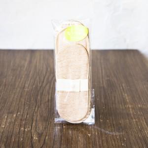 布ナプキンライトセット ストライプ(スリム・ リトルボーダー茶・パッド 各1)