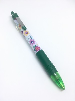 ZEBRA Z-Grip Flowers Green