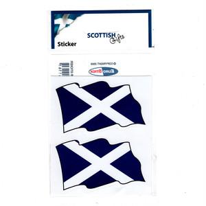 ステッカー【スコットランド2枚入-SC100】Eurostick 90017-P