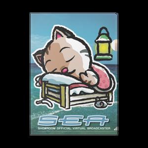<クリアファイル>おやすみーちゃん&おすわりみーちゃん