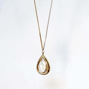 Rutilated Quartz Long Necklace