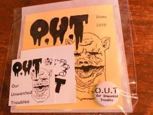 O.U.T - デモパック(CD-R)