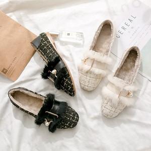 【shoes】履きやすい裏起毛新作トレンドシューズ25713892