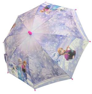 アナと雪の女王転写プリント子供傘45cm・50cm