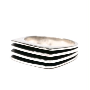 Vintage Mexican 4 Layer Ring