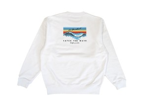 【catch the wave sweat】/ white