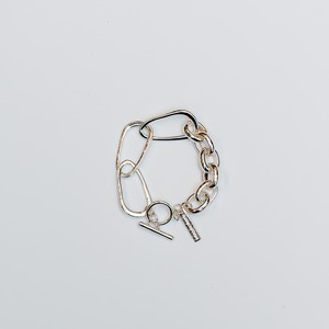【 Nothing And Others 】Big Chain Bracelet