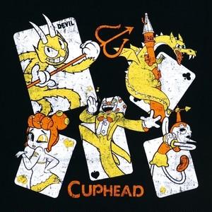 CUPHEAD ( カップヘッド )  Tシャツ (E)   / エンスカイ