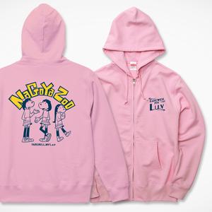 NAGOYA ZOO ジップパーカー ピンク