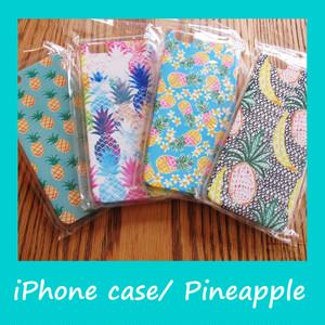 ハワイアンスマホケース for iPhone6 & 6s(パイナップル4柄)