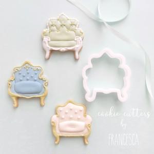 アンティークソファのクッキー型