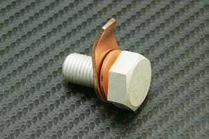 アーシングヘルパー アースポイント用 M10 P1.25 L15  1本