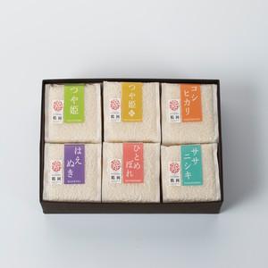 庄内米6種「梅」セット(殿や)