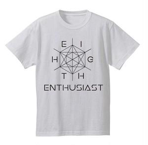 六芒星 デザインTシャツ ホワイト