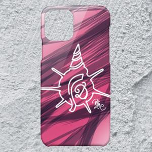 【iPhone11Pro対応】D-Logoホワイトハードケース*おしゃれデザイン