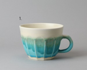 トルコ釉のマグカップ -大 | 環窯