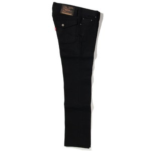 RIGID TYPE-1 DENIM PANTS<TIGHT STRAIGHT> (BLACK) / RUDE GALLERY