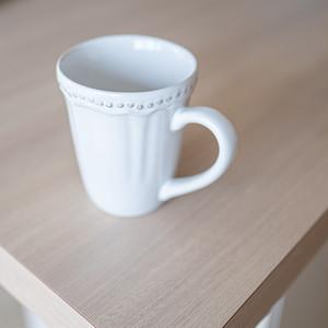 ホワイト レイラマグ(Leila Mug)