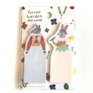 AIKO FUKAWA 付箋 / Green Garden