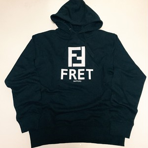 FRET/hooded sweat shirt