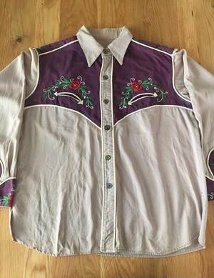 60~70's western  shirts L/S    ウェスタンシャツ 古着 us古着 シャツ ヴィンテージ アメカジ