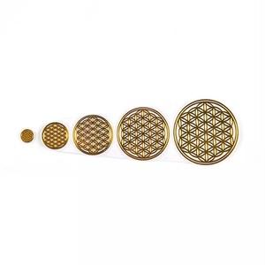 真鍮ゴールド5枚セット★エネルギーステッカー・エナジーシール・オルゴナイト