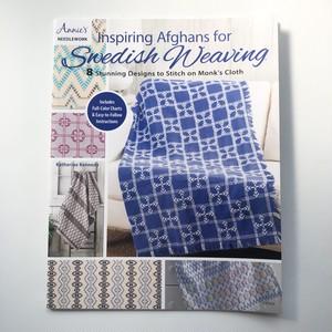 スウェーデン刺繍のパターンとアイディア集 Inspiring Afghans for Swedish Weaving