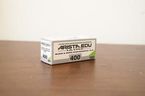 【モノクロネガフィルム 120 ブローニー】ARISTA(アリスタ) ARISTA.EDU ULTRA400