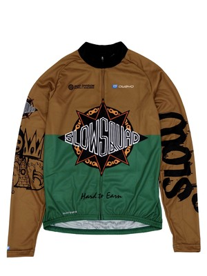 "SLOW SQUAD INTERNATIONAL ""MASTERPIECE LONG SLEEVE JERSEY """