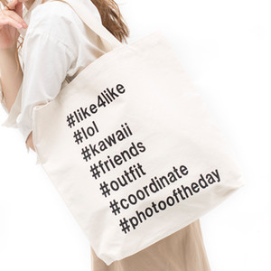 [ the HAMP works ] TOTE_BAG  A-11 : Hash Tags