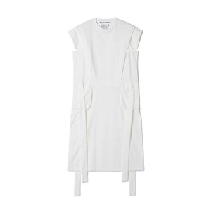 White Mountaineering / SIDE SLIT DRESS[WHITE]