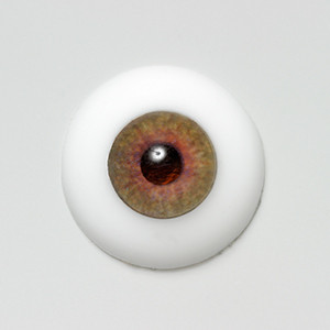 Silicone eye - 09mm LIGHTER Mystic Hazel