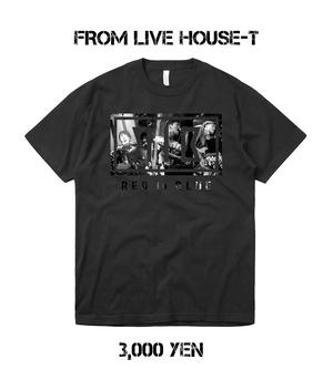 【受注生産】FROM LIVEHOUSE T-SHIRTS【BLACK】