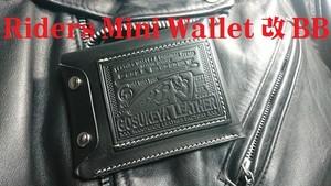 ライダースミニウォレット改 BB  ブッテーロ Riders Mini Wallet 改 BB