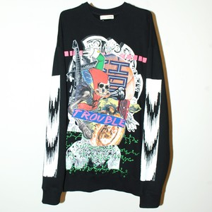『we are the???』1off O.D collage Sweatshirt/5XL