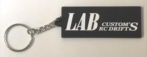 LP-021 LABオリジナル ラバーキーホルダー