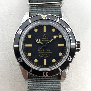 W.MT WATCH NEW CASE SEA DIVER NEW SD DIAL WMT465-04