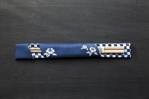 洗える浴衣地箸袋NO6(大人用越後杉箸1膳入り)