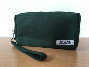 SuiJohのセカンドバッグ《ダークグリーン》